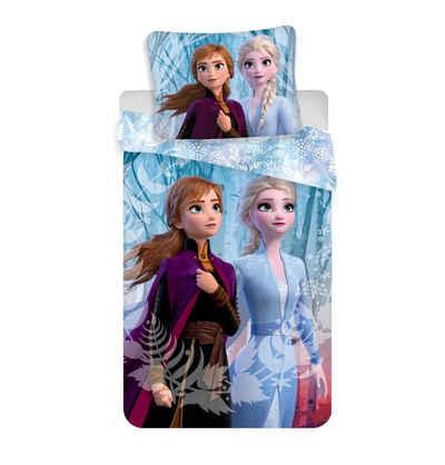 Bettwäsche »Die Eiskönigin Kinderbettwäsche«, Disney Frozen, Mikrofaser, 135-140x200 cm