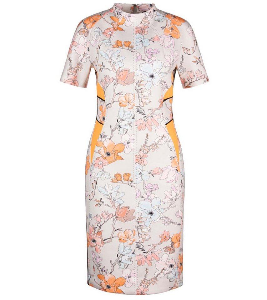 Marc Cain Minikleid »MARC CAIN Mini Kleid schickes Damen Abend Kleid mit  japanischem Blumenmuster Sommer Kleid Bunt« online kaufen   OTTO