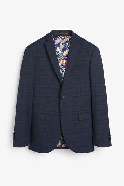 Next Anzugsakko »Anzug mit Karomuster: Regular Fit Jacke«