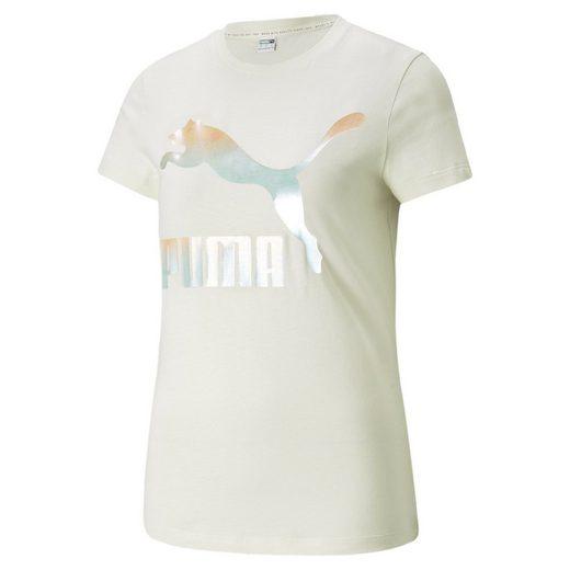 PUMA T-Shirt »Classics Logo Damen T-Shirt«
