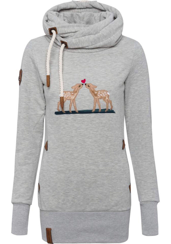 naketano Kapuzensweatshirt »Gib ma auf Kombi« Stickerei online kaufen | OTTO