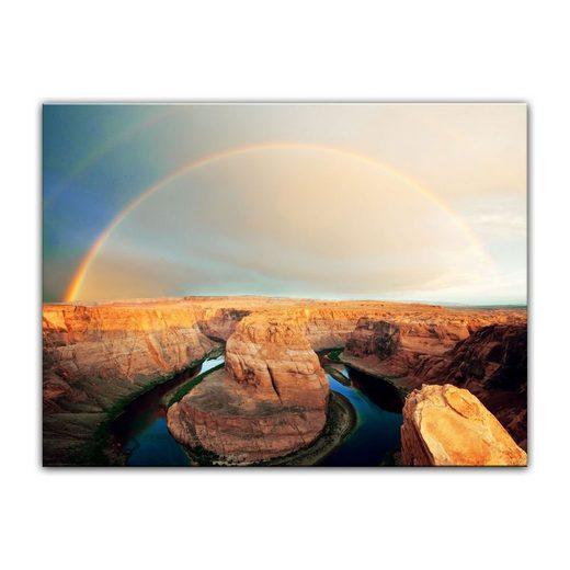 Bilderdepot24 Leinwandbild, Leinwandbild - Horseshoe Bend - Arizona