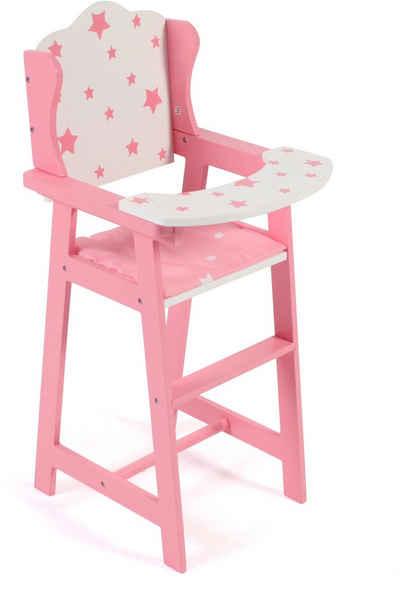 CHIC2000 Puppenhochstuhl »Stars pink«