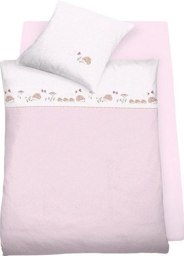 Kinderbettwäsche »Hedwig«, Schlafgut, GOTS zertifiziert