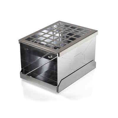 Petromax Feuerschale »Feuerbox fb1 - 15x20x14cm - Edelstahl Feuerstelle - 1,4kg«