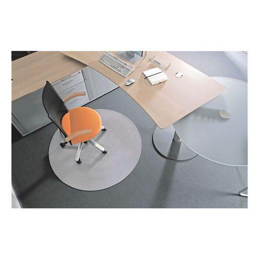 BSM Bodenschutzmatte, rund, für mittelflorigen und niederflorigen Teppichboden