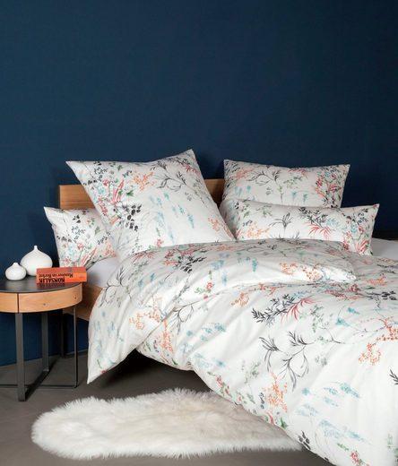 Janine Kissenbezug »MILANO 45005«, mit floralem Muster