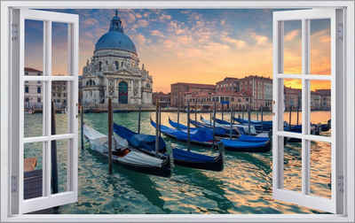 DesFoli Wandtattoo »Venedig Italien Stadt Skyline F2908«