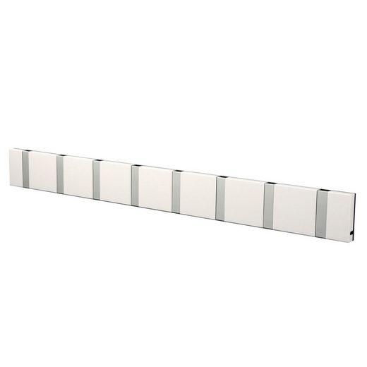 LoCa Garderobe »LoCa Garderobe Knax 8 weiß (Haken klappbar Alu)«