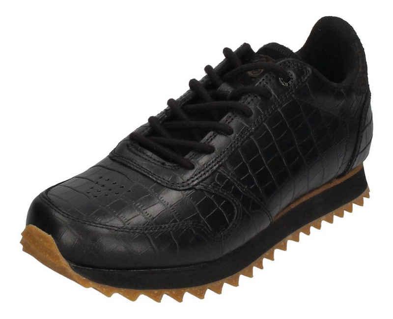 WODEN »YDUN CROCO SHINY WL027-020« Sneaker black