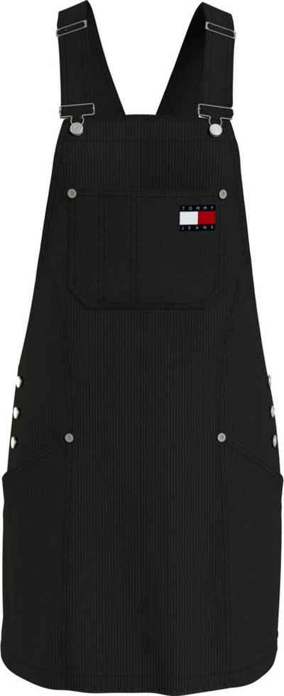 Tommy Jeans Trägerkleid »TJW CORD DUNGAREE DRESS« mit verstellbaren Trägern & Tommy Jeans Logo-Badge
