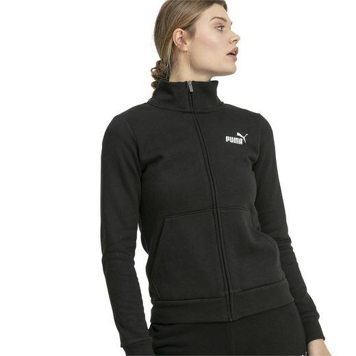 PUMA Sweater »Essentials Damen Fleece Trainingsjacke«