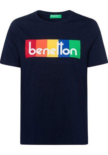 United Colors of Benetton T-Shirt mit farbenfrohem Print