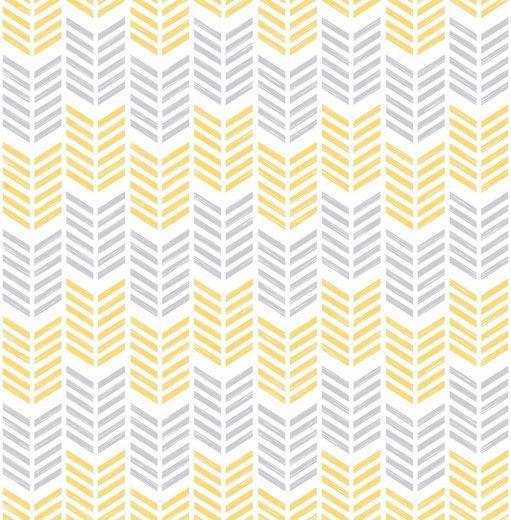 Vliestapete »Yellow«