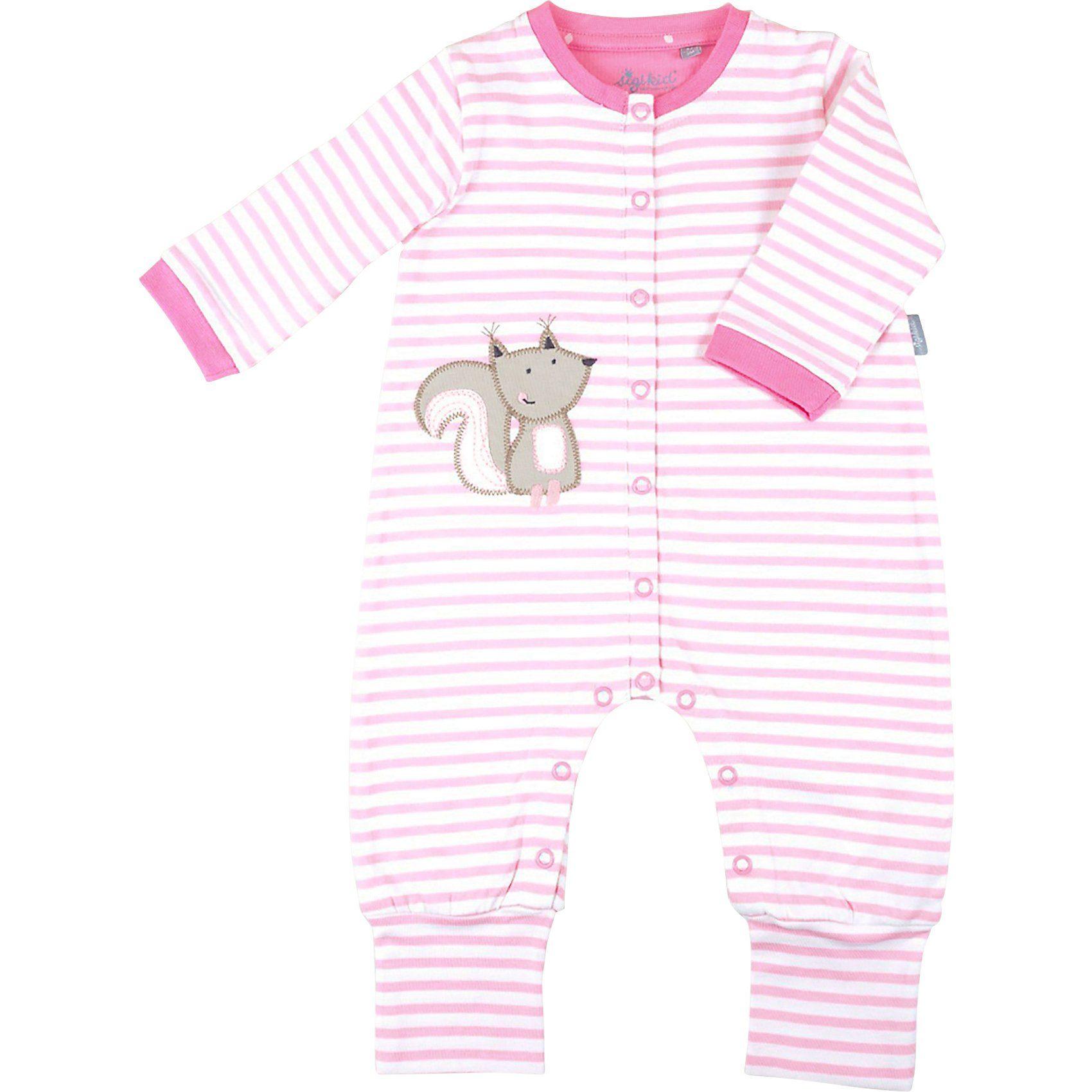 SALT AND PEPPER Baby Mädchen Wickelbody Love 2er Pack in rosa//weiß