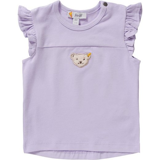 Steiff Baby T-Shirt mit Rüschen für Mädchen
