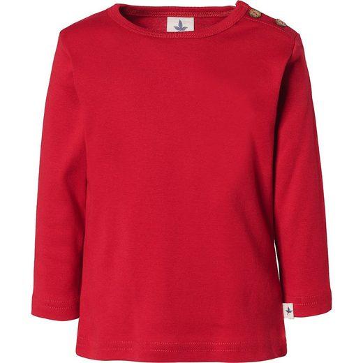 Leela COTTON Baby Langarmshirt, Organic Cotton