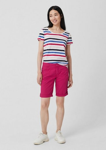 s.Oliver Smart Bermuda: Shorts aus Baumwolle