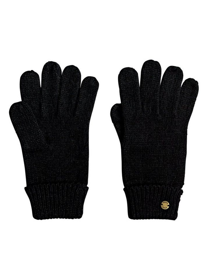 Roxy Strickhandschuhe »Let It Snow« | Accessoires > Handschuhe > Strickhandschuhe | Schwarz | Roxy
