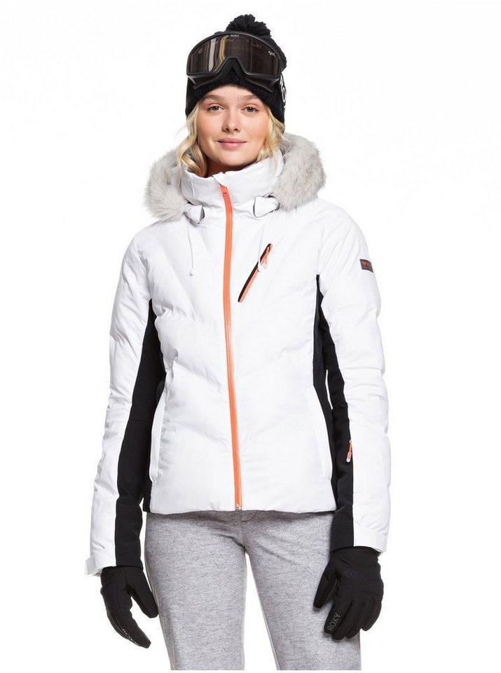 Roxy Snowboardjacke »Snowstorm« | Sportbekleidung > Sportjacken > Snowboardjacken | Weiß | Polyester - Taft | Roxy
