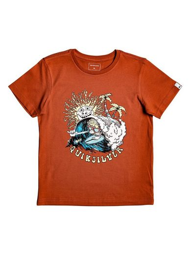 Quiksilver T-Shirt »Boom Its Done«