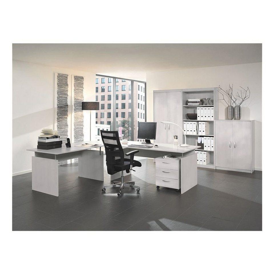 wellem bel m bel set 7 teilig schreibtisch mit wangenfu adria online kaufen otto. Black Bedroom Furniture Sets. Home Design Ideas