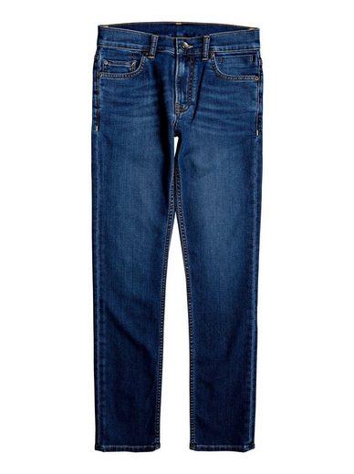 Quiksilver Slim-fit-Jeans »Distorsion Medium Dark«
