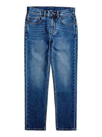 Quiksilver Straight-Jeans »Revolver Medium Blue«