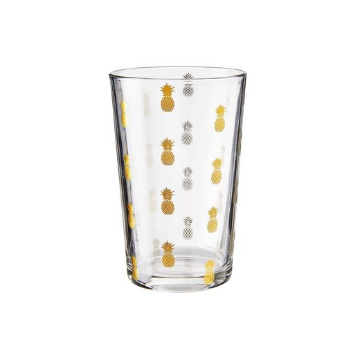 BUTLERS TROPICAL »4x Glas Ananas 300 ml«
