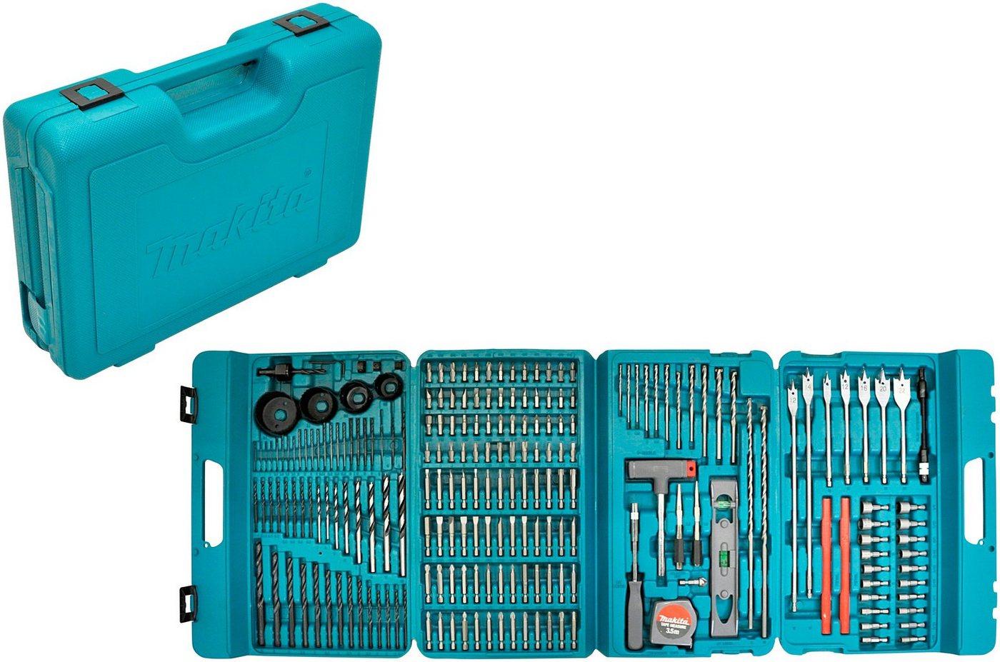 MAKITA Bohrer- und Bit-Set »P-44046«, 216-tlg.   Baumarkt > Werkzeug > Werkzeug-Sets   Blau   Makita