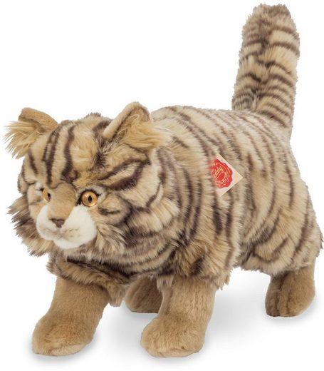Teddy Hermann® Kuscheltier »Wildkatze stehend getigert, 36 cm«