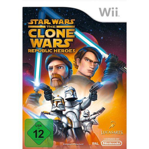 ak tronic Wii Clone Wars: Republic Heroes