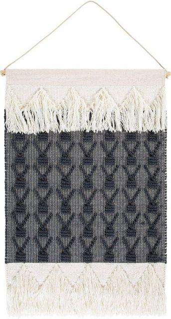 Wandteppich »Skagen 1«, LUXOR living, rechteckig, Höhe 10 mm, Wanddeko mit Aufhängung, Boho | Heimtextilien > Teppiche > Wandteppich | LUXOR living