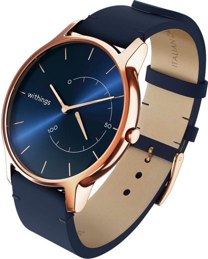 Withings Move Timeless Chic Lederband Fitnessuhr