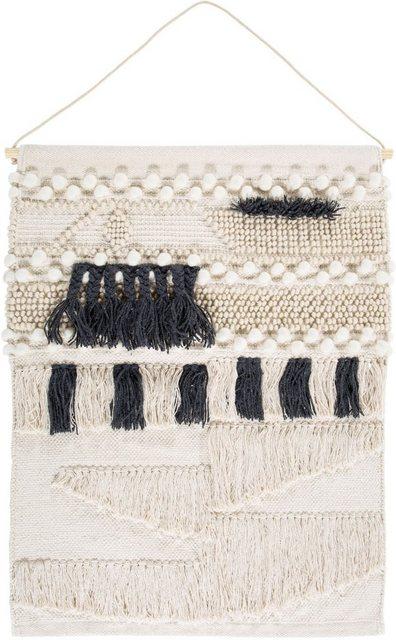 Wandteppich »Skagen 3«, LUXOR living, rechteckig, Höhe 10 mm, Wandbehang mit Aufhängung | Heimtextilien > Teppiche > Wandteppich | LUXOR living