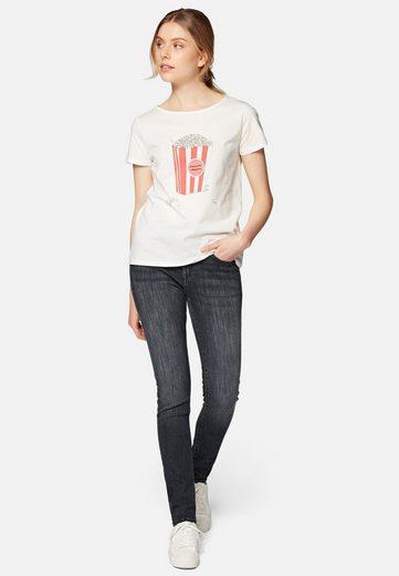 Mavi T-Shirt »POPCORN TEE« Bedrucktes Shirt