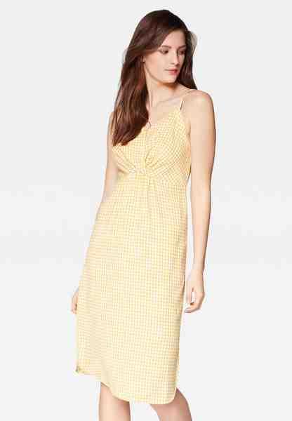 Mavi Off-Shoulder-Kleid »CHECK DRESS«