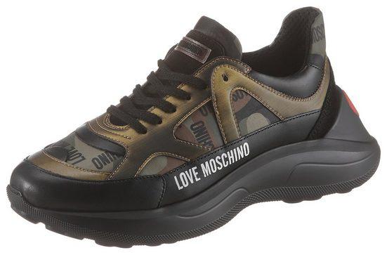 LOVE MOSCHINO »Super Heart« Sneaker in toller Farbkombi