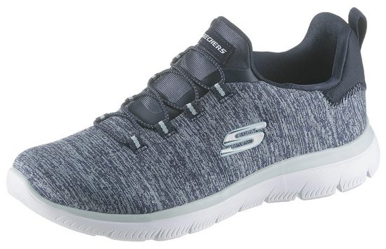 Skechers »Summits-Quick Getaway« Slip-On Sneaker mit Gummiband