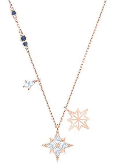 Swarovski Kette mit Anhänger »SYMBOL ANHAENGER STAR, 5494352«, mit Swarovski® Kristallen