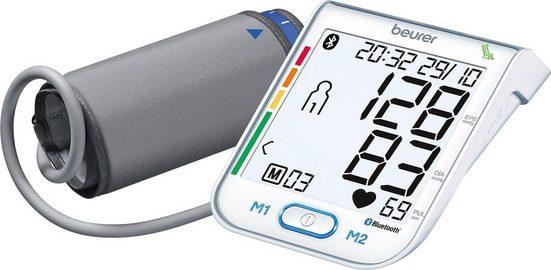 BEURER Oberarm-Blutdruckmessgerät BM 77, mit patentiertem Ruheindikator
