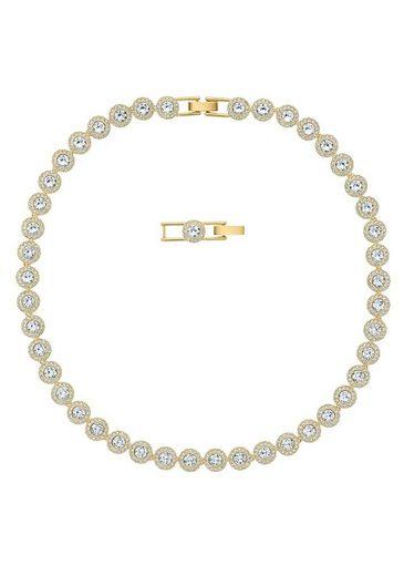 Swarovski Collier »ANGELIC ROUND, 5505468«, mit Swarovski® Kristallen