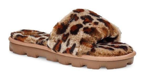UGG »Cozette Leopard« Pantolette im Leomuster