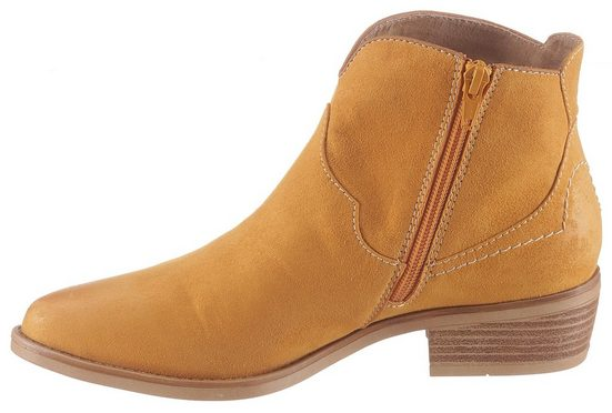 s.Oliver Cowboy Stiefelette in knalliger Farbe