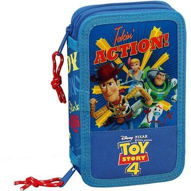 safta Double-Federmäppchen Toy Story 4, 28 tlg.