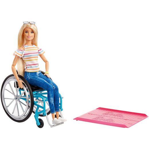 Mattel® Barbie Rollstuhl und Puppe (blond)