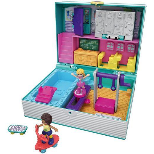 Mattel® Polly Pocket Pocket World Schulbuch Schatulle