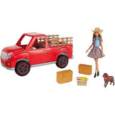 """Mattel® Barbie """"Spaß auf dem Bauernhof"""" Fahrzeug mit Puppe"""