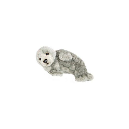 WWF Robbe, grau auf der Seite liegend 24cm