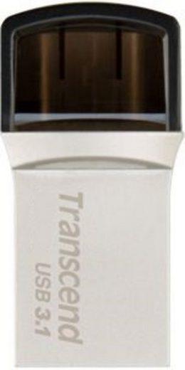 Transcend USB-Stick »32 GB JetFlash 890S USB 3.1 + Type-C«
